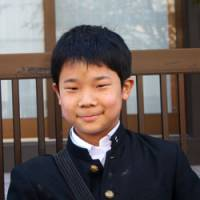 Trailblazer: Yukiya Arai, 12, was a guide with good sense. | KIT NAGAMURA PHOTOS