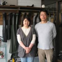 Friendly faces: Mikiya and Rie Kasai (above) in the entryway to their welcoming inn, Kasai Ryokan; and Seichi Nishiguchi, 77, who has great tales to tell of times past.