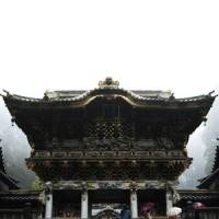 Grand entrance: The architecture of the massive and imposing Yomeimon Gate to Toshogu Shrine is cleary Shinto (with shades of China), though standing nearby is a typically Buddhist five-story pagoda.