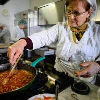 Gourmet food dished out in crisis-hit Italy's soup kitchens