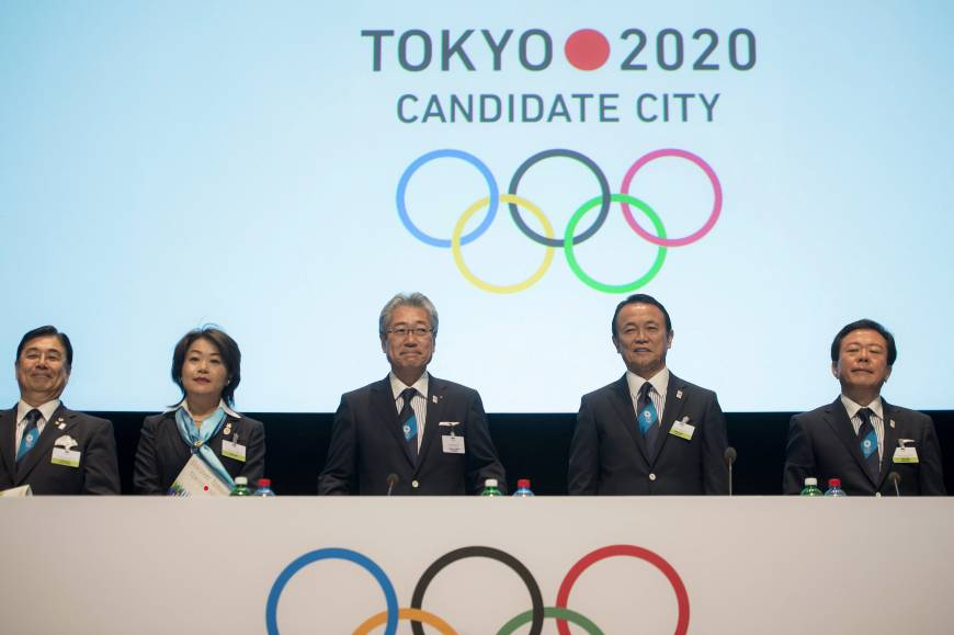 Tokyo 2020 Olympics bid committee delivers final briefing in Lausanne