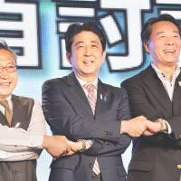 LDP spin team hammers voters with 'Abenomics' mantra