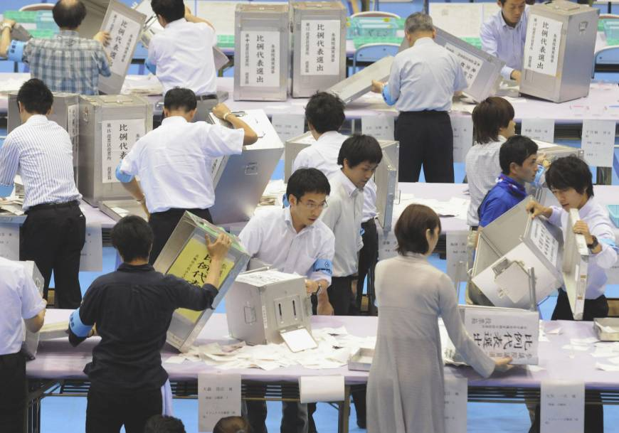 Nearly quarter of unaffiliated voters backed LDP
