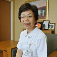 Red Cross honors nurse from Ishinomaki