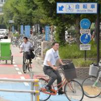 Nagoya commuters get their cycle on