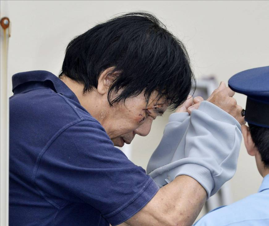 Suspect in Yamaguchi murder-arson case is turned over to prosecutors