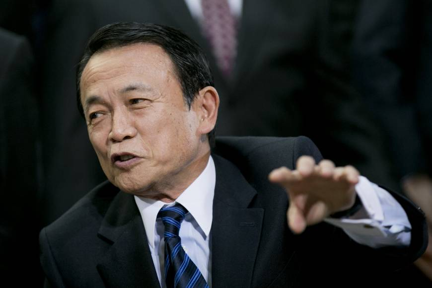 Aso's Nazi-inspired quip rubs Seoul the wrong way