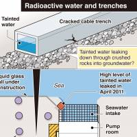 Tepco trying to keep radioactive water from reaching sea, but can it?