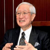 Digging in: Despite the recent controversy about changes to the NPB's official ball, commissioner Ryozo Kato is vowing to stay on the job. | YOSHIAKI MIURA