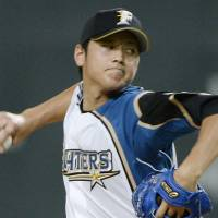 First timer: Rookie Shohei Otani did a little bit of everything in his All-Star debut.   KYODO