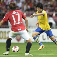Time to shine: Ryo Miyaichi is hoping to put injuries behind him and solidify a spot in the Arsenal squad. | KYODO