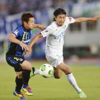 Gamba, Vissel on course for quick return to top division