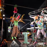 Japanese group Oboreta Ebi no Kenshi Hokokusho (aka The Autopsy Report of Drowned Shrimp) play the Rookie A Go-Go stage Saturday night. | JAMES HADFIELD