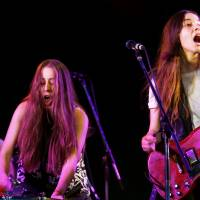 California sisters Haim play the Red Marquee on Sunday. | JAMES HADFIELD