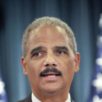 Eric Holder | BLOOMBERG