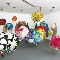 Salvation through art: Late Detroit artist Mike Kelley's installation work 'Deodorized Central Mass With Satellites' from 1991-1999. 'We need someone of his stature to be a figurehead,' says Marsha Miro, board president of the Museum of Contemporary Art Detroit. | BLOOMBERG