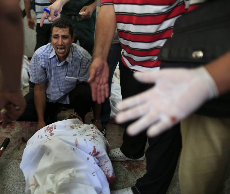 Rights group calls Egyptian deaths deliberate