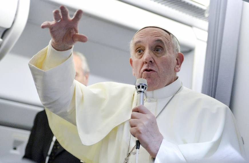 Pope's accepting comments on gays mark change in tone