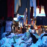 Change your clothes, change your mind: Yamaguchi Center for Arts and Media is currently showing artist Yoshinari Nishio's 'Pubrobe,' which is described as a station where people can lend and borrow clothes for free.