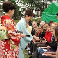 Join in tea ceremonies; Grand whisky tasting