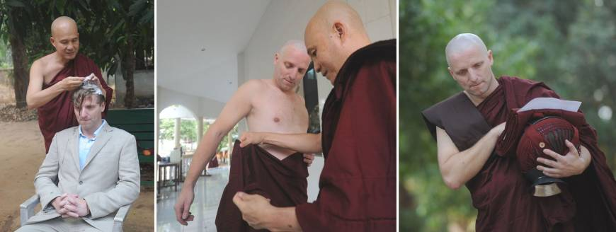 Myanmar monasteries offer boot camp to calm spirits of frazzled souls