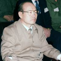 Seat of power: South Korean President Chun Doo-hwan attends a briefing during the joint U.S.-South Korean military exercises in March 1985. | WIKIPEDIA
