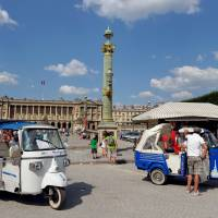 Asian tuk-tuks filling niche in Paris