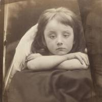 Image: 'I Wait' is an 1872 albumen print portrait of a Victorian child posed to resemble the cherubs in Raphael's 'Sistine Madonna.' The portrait is by photographer Julia Margaret Cameron, Virginia Woolf's great-aunt, a subject in the latest collection of essays by New Yorker writer Janet Malcolm. | BLOOMBERG