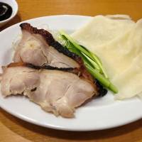 Kaoyapin is a cold chicken dish with pancakes similar to Peking duck. | ROBBIE SWINNERTON