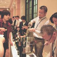 On the grapevine: A recent Wine Aid for East Japan event aimed to raise money for charities in Tohoku. | MELINDA JOE
