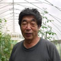 Down to earth: Former astronaut Toyohiro Akiyama, who now teaches agriculture at Kyoto University of Art and Design, believes that working on the land helps artistically minded students to open their minds and so nurture their creativity. | TOMOKO OTAKE