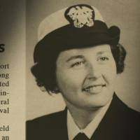Nuclear family: M.T. Silvia's mother is featured in the Newport Daily News upon her graduation from line officers' school in 1952. | COURTESY OF SMARTGIRL PRODUCTIONS LLC