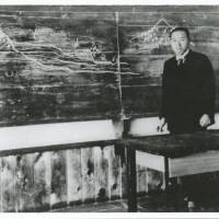 Miyazawa teaching at Hanamaki Agricultural School, which he left in 1926 to farm the land. | RINPOO
