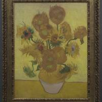 A 3-D replica of Van Gogh's 'Sunflowers,' — yours for ¥3.4 million