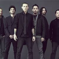 Park life: Linkin Park (whose members include Dave Farrell, Brad Delson, Chester Bennington, Mike Shinoda, Rob Bourdon and Joe Hahn) have been to Japan many times and also took part in relief efforts following the Great East Japan Earthquake of March 11, 2011. | LINKIN PARK WARNER MUSIC JAPAN