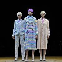 """Color-changing fashion, Hedi Slimane's first Saint Laurent collection, 99%IS' unusual """"macs"""" and newcomers to Harajuku"""