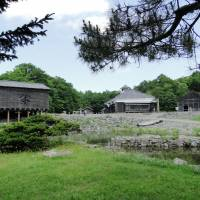 A view of the fishing village section at Hokkaido Historical Village. | MANDY BARTOK PHOTO