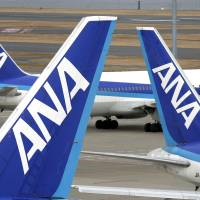 Stability: All Nippon Airways Co. will make all of its flight attendants regular employees starting next April instead of hiring them on a contract basis. | BLOOMBERG