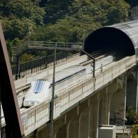 JR Tokai resumes maglev tests on new section