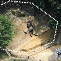 Imperial dig: The octagonal stone paving in Asuka, Nara Prefecture, has been identified as part of the tomb of seventh century Empress Saimei. | KYODO PHOTO