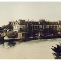 A picture of the first Imperial Hotel, which opened as a state guesthouse at the site in 1890. | COURTESY OF IMPERIAL HOTEL LTD.