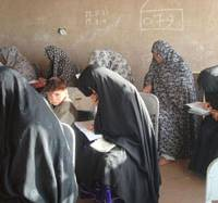 Women in Afghanistan receive free literacy, IT lessons