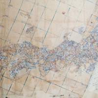 Exhibit A: A 1768 chart titled 'Kaisei Nihon Fuso Bunrizu' believed made by geographer Nagakubo Sekisui has been confirmed by Shimane Prefecture as the oldest map to include what Japan regards now as the Takeshima islets as part of its territory. | SHIMANE PREFECTURE/KYODO