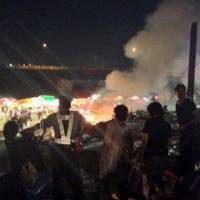 60 hospitalized in food stall gas blast at Kyoto fireworks festival