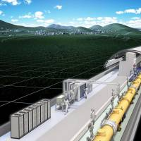 Tohoku pitched for ¥1 trillion collider
