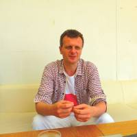 Ready to help: Dariusz Skowronski, a Polish psychologist and therapist, is interviewed in Tokyo in July.   MAGDALENA OSUMI
