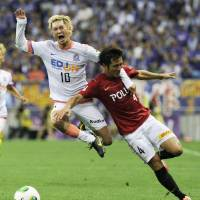 Weekend results deny Sanfrecce chance to stretch legs