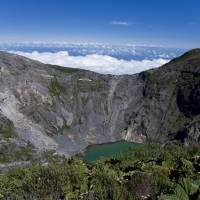 Hell hole: Findings from the Irazu volcano in Costa Rica suggest that quakes at great depths may herald mantle magma rising through hidden channels before major eruptions. | WIKIPEDIA