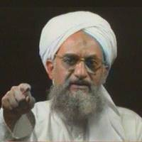 Power shift: Al-Qaida's deputy leader at the time, Ayman al-Zawahri, points to the camera in a tape sent to the pan-Arab  TV network Al-Jazeera in January 2006. | AP