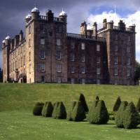 Fit for a king: Scotland's Drumlanrig Castle, the family home of Richard Scott, the 10th Duke of Buccleuch. Scott owns 97,124 hectares of land worth between £800 million and £1 billion, making him the United Kingdom's largest private landowner. | JOERGSAM